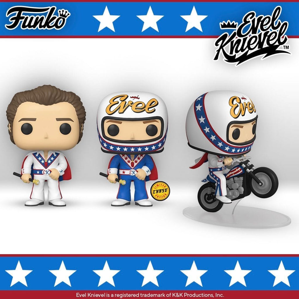 Funko Pop! Evel Knievel Bundle