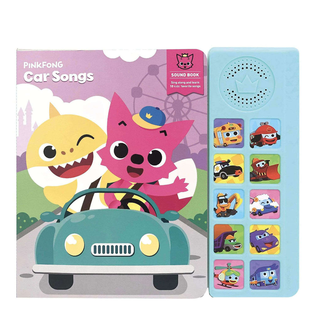 Pinkfong Cars Songs Sound Book