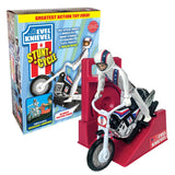 International Evel Knievel Stunt Cycle Jumper Bundle - Black