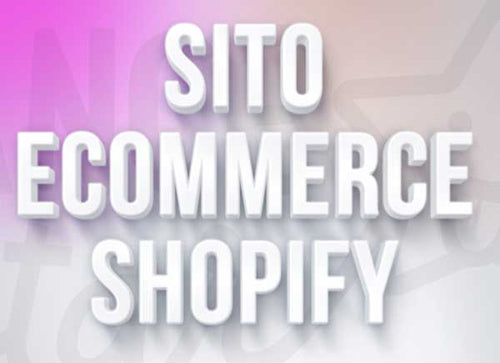 sito e-commerce shopify