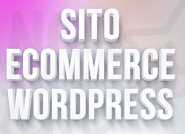 sito e-commerce wordpress woocommerce