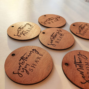 Timber Gift Tags