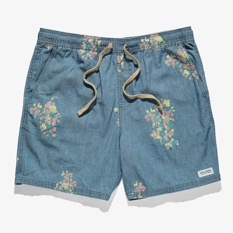 HOMME, BAS, BANKS, SHORT, FLOWERY, BANKS JOURNAL, DM2 SHOP
