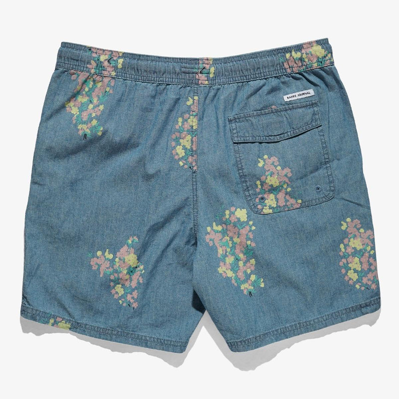 BANKS JOURNAL // SHORT HOMME FLOWERLY