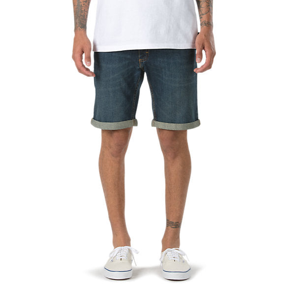 VANS, BAS, HOMME, SHORT, DENIM, JEANS, HANNON, VN0000KRBLK, DM2 SHOP