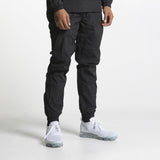 nylon runner pant noir fair play