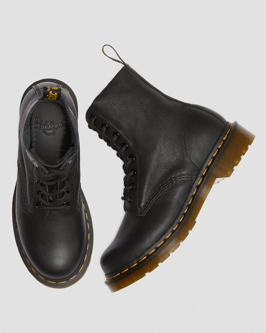 Dr. MARTENS // BOOTS 1460 PASCAL BLACK VIRGINIA 8 HOLES