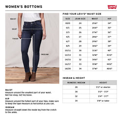 LEVI'S // JEANS SKINNY FEMME / 721