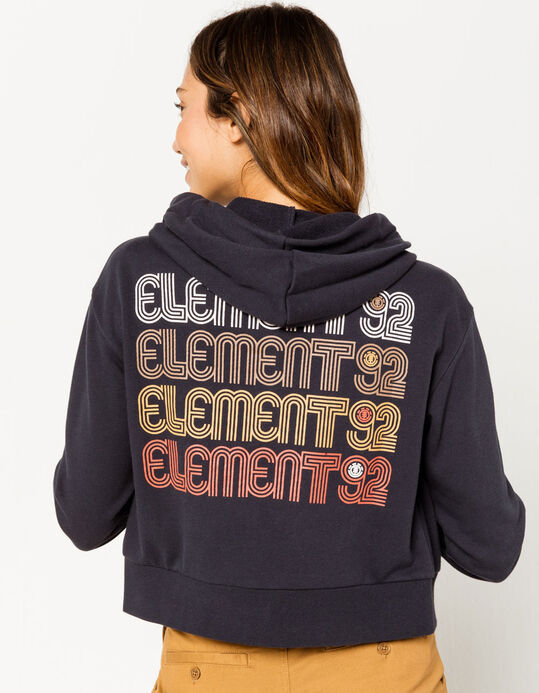 ELEMENT // CHANDAIL CAPUCHON AVEC ZIP HUSH