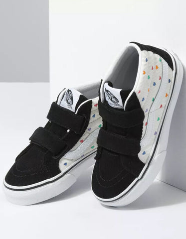SK8-HI MID REISSUE V, TODDLER, RAINBOW CORD, CHAUSSURE, VANS, DM2 SHOP