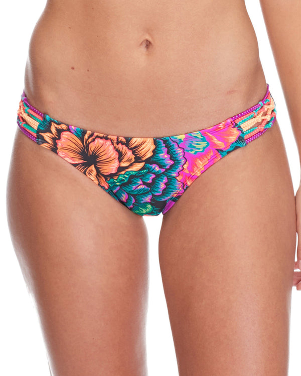 BODY GLOVE FLEUR SURF RIDER BIKINI BOTTOM MULTI FLOWER