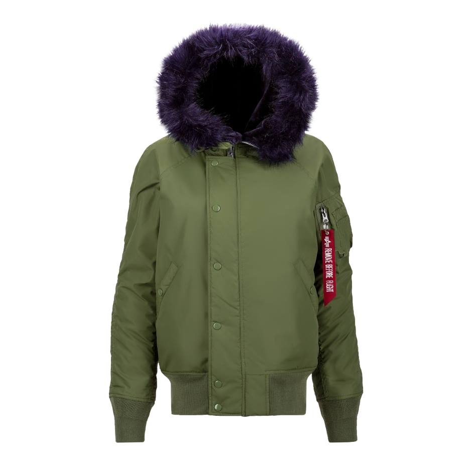 N-2B IMPACT PARKA W Alpha Industries