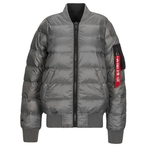 ALPHA // MA-1 DOWN FLIGHT JACKET FEMME RÉVERSIBLE