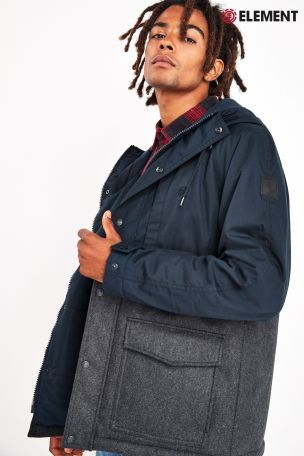 ELEMENT // MANTEAU DE VILLE DOUBLÉ BRICHMOND