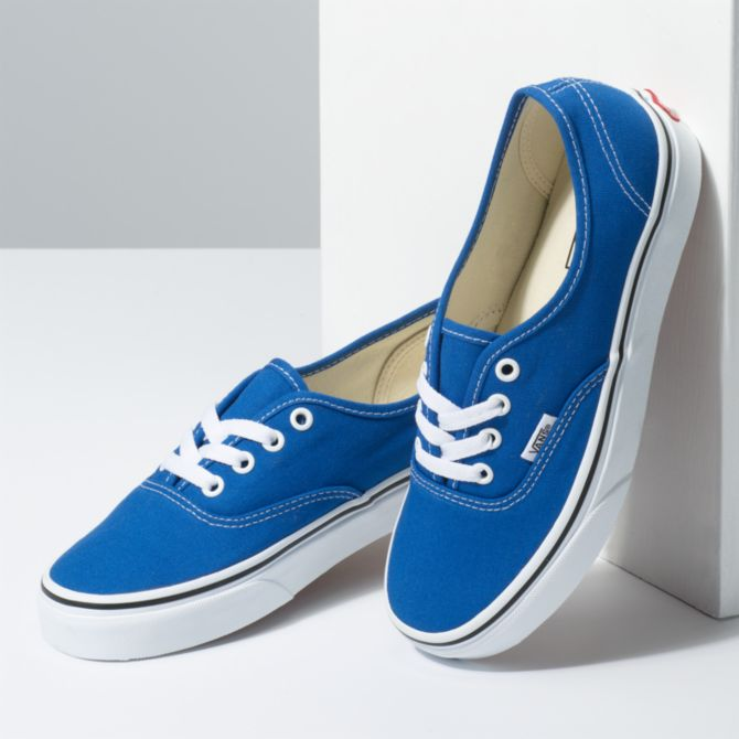 AUTHENTIC VANS SHOES CHAUSSURES FEMME BLEU DM2