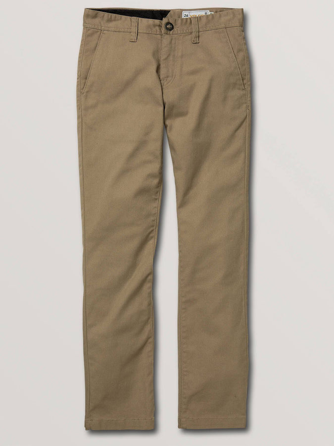 VOLCOM, PANTALON , CHINO, FRICKIN, YOUTH, BOYS, DM2 SHOP, A1131807