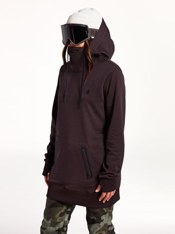 POLARTEC, RIDING, FLEECE, SNOW, HOOD, HAUT, FEMME, VOLCOM, DM2 SHOP