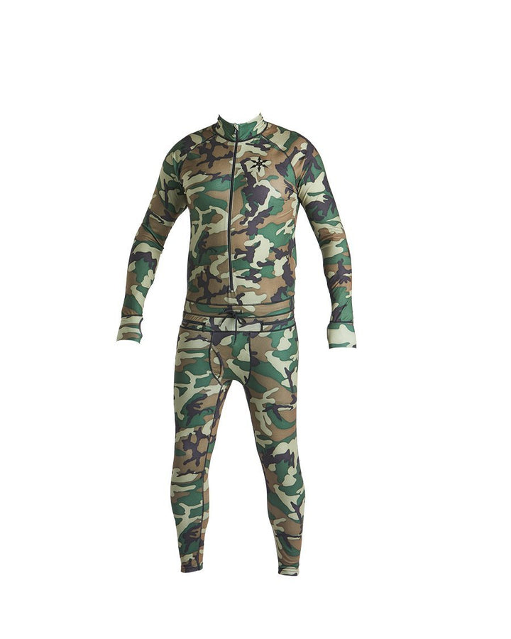 AIRBLASTER, NINJA SUIT, HOODLESS, CAMO, HOMME, MEN, DM2 SHOP, SNOWBOARD, THERMAL, SOUS-VÊTEMENT