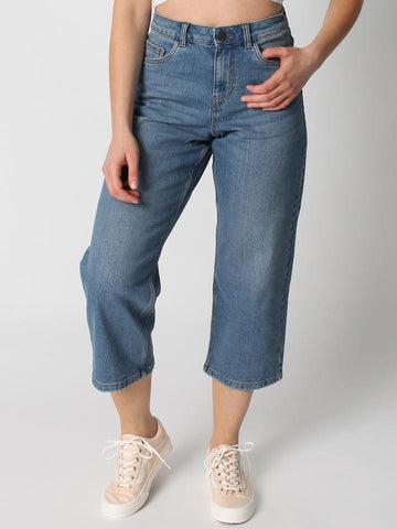 NOISY MAY CROP JEANS PAIGE LOOSE FIT DM2 SHOP