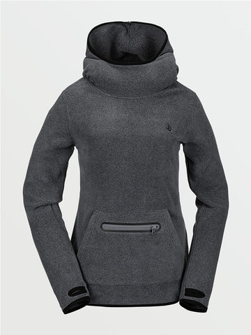 POLARTEC MID HOODY, FLEECE, HOOD, HAUT, FEMME, VOLCOM, DM2 SHOP