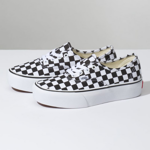 AUTHENTIC VANS PLATFORM CHECKERBOARD