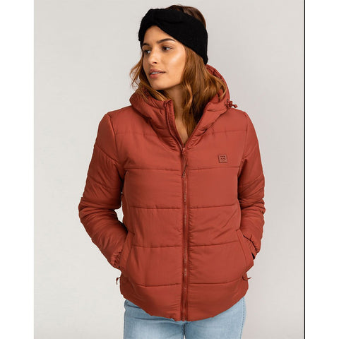 HYBRID, MANTEAU, FEMME, TRANSPORT PUFFER, HIVER, SNOW, HAUT, BILLABONG, DM2 SHOP