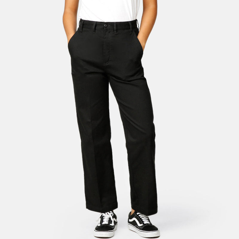 OBEY LACKEY PANT BLACK NOIR PANTALON WOMEN FEMME DM2