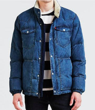 DOWN BARSTOW PUFFER JACKET LEVI'S STYLE 565860003