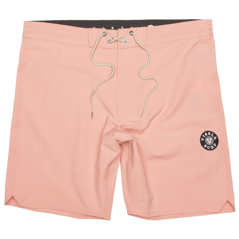 SOLID SET BOARDSHORT PINK ROSE HOMME DM2 VISSLA