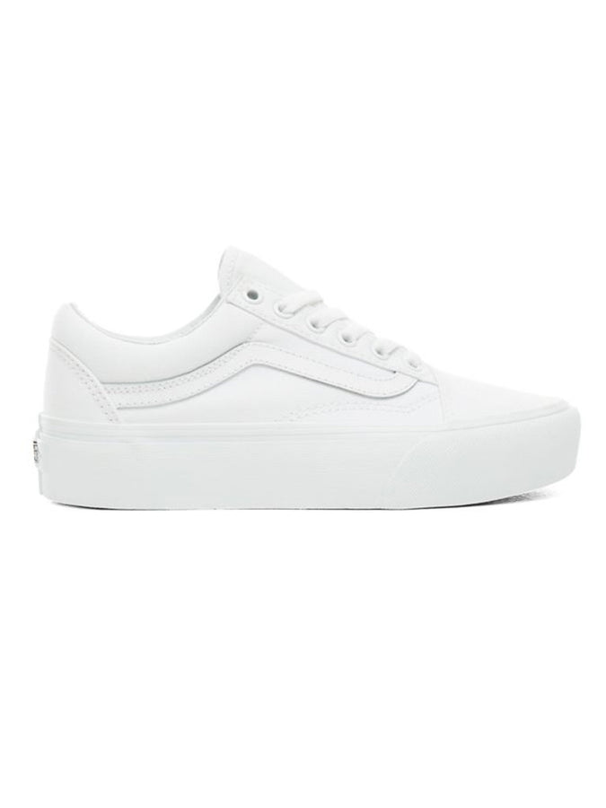 VANS, OLD SKOOL, PLATFORM, VN0A3BU, WHITE, BLANC, DM2 SHOP