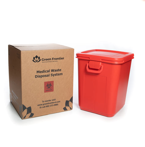 28 Gallon Sharps and Medical Waste Mailback Disposal Kit