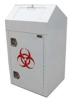 INDOOR PHARMACEUTICAL DISPOSAL BIN, 38 GALLONS - ITEM: #MW01-P