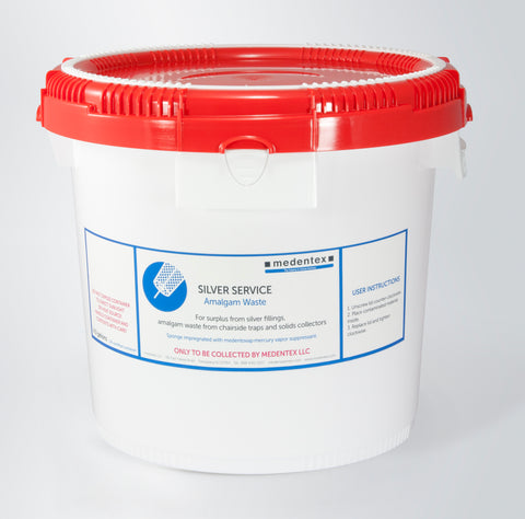 4 Gallon Medentex Dental Amalgam Recycling Mailback Container