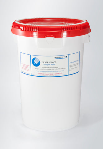 6 Gallon Medentex Dental Amalgam Recycling Mailback Container