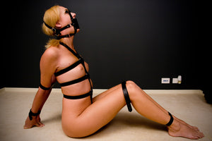 5 Point Leather Body Harness