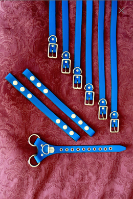 Leather Belts and Straps - Coloured to match