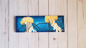 Jellyfish Panoramic Painting - Rays of the Son