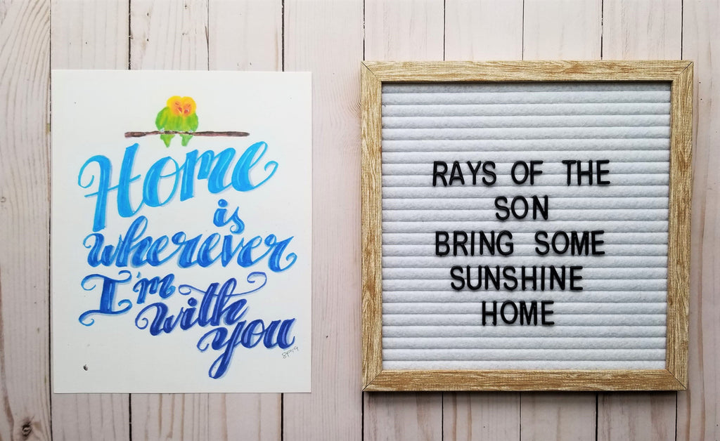 Home is Wherever I'm With You - Rays of the Son