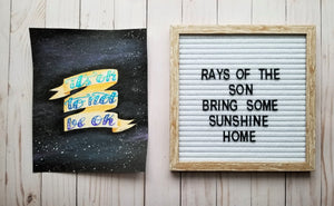It's Ok to Not Be Ok - Rays of the Son