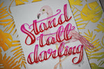 Stand Tall Darling Collage