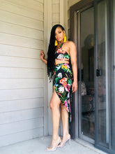 Load image into Gallery viewer, Tropical Queen Two Piece Skirt Set