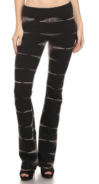 URBAN X Black Brick Tie Dye Yoga Pants