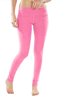 T-Party Solid Color Neon Yoga Leggings
