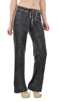 T-Party Drawstring Waist Terry Lounge Pants