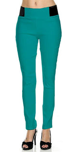 Teal Ponte Leggings