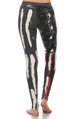 T-PARTY Flag Yoga Leggings
