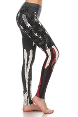 USA Red White Blue Yoga Pants