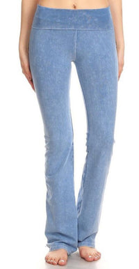 T-Party Light Denim Blue Yoga Pants