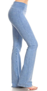 Light Denim Blue Yoga Pants