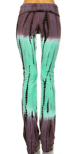 URBAN X Mocha Mint Tie Dye Yoga Pants